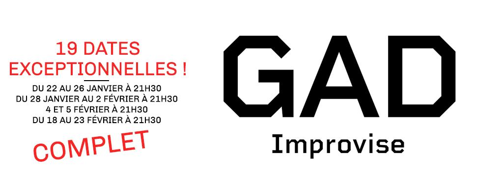 Gad Elmaleh « GAD improvise »